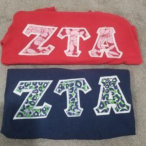 ZTA shirts